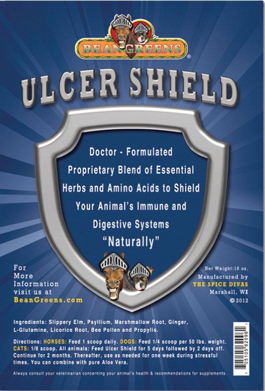 shield ulcer definition
